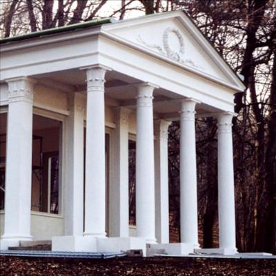 Restaurierung des Pavillons im Schlosspark