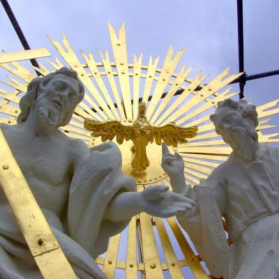 Restaurierung der Dreifaltigkeitssäule am Freiheitsplatz
